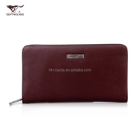 Top brand good quality cow split leather wallets