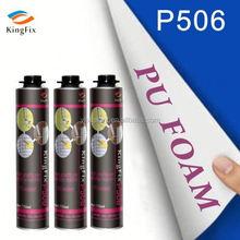Eco-friendly gun & manual type 350g polyurethane foam insulation spray for sealing joints