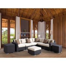 2015 Modern Deep Seating resin rattan elegant bedroom furniture sets