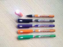 promotional LED ball pen/plastic light pen/LED illumination pen