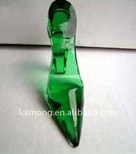 Optical glass classics Crystal high-heeled shoe , crystal gift