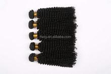Special unique kinky curl remy velvet hair weave