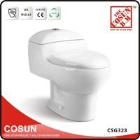 Dual Flush Ceramic Color One Piece WC Toilet