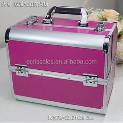 High-end professional makeup artist cosmetics cases dedicated professional aluminum makeup cosmetic case