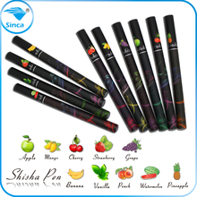 andy zhou whats app 0086 18816760525 classical 500 puffs red led light e hookah pen disposable