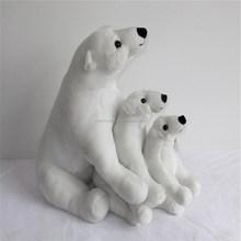 polar bear christmas decoration christmas gift polar bear plush toy stuffed animal