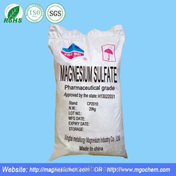Medicine Grade High Purity Magnesium Sulfate Made by Professional Manufacturer