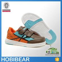 HOBIBEAR 2015 hook and loop fashion kid skate shoe children casual sport shoe