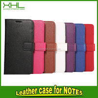 Hand Bag Case With Lanyard For Samsung Galaxy Note 5 Case Fashion Luxury Filp Lychee Leather Wallet Stand Phone Magnetic Covers