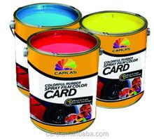 Carlas factory direct sale liquid rubber paint for rubber surface
