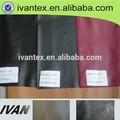 ivan vestuário têxtil e de confecção de malhas sólido tingido tecido de poliéster pvc