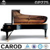 foreign musical instrument and chinese handmade black grand and upright piano