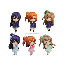 Wholesale 6cm PVCa set of 7 love live egg box Japanese cartoon characters action figure