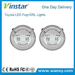 100% waterproof with ventilation hole led drl multi led fog light for hybrid 06-07