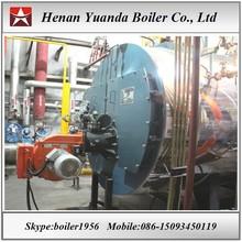 Natural gas Lpg Gas fired 8ton 8 ton steam boiler