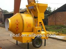 JZM350 350 liters self loading electric concrete mixer