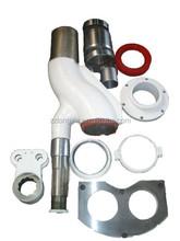 concrete pump spares parts S valve, wear plate for Cifa