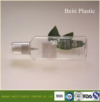 200ml super flat PET clear plastic bottle Discharge make up oil is pet bottle