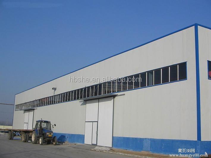 Structure en acier pr fabriqu en acier ferme entrep t hangar industriel cons - Cout construction hangar industriel ...