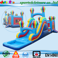 EN14960 hot selling wet dry inflatable bouncing castles, used balloon commercial bounce houses for sale