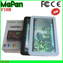 Best 10.1 inch cheap tablet pc, High quality MaPan HD 1024*600 10'' easy touch android tablet