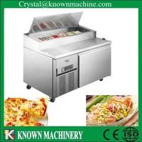 refrigerated electric salad bar /restaurant working bench