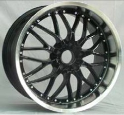 Deep Concaved Car Wheel Rims In High Quality With Many Spokes