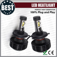 Perfect heat dissipation structure 6g led head light h4 for all cars