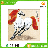 Hot sale factory supply for gift resin crafts diamond painting horse