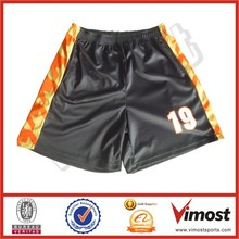 Sublimation Big size men basketball short with low price 115