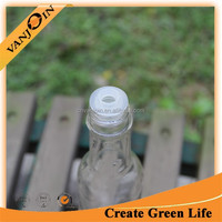250ml Clear Glass Olive Oil Bottles With Reducer
