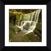 2015 square beautiful waterfall wall hanging pictures 3d