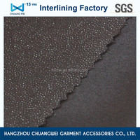High quality durable competitive hot product dacron woven interlining