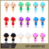 Colorful Micro Fancy Fashion Earring Studs Display wholesale