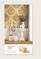 PVC Deep embossed Washable Wallpaper and Korea Design