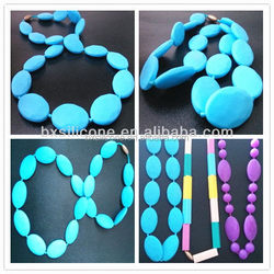 Top grade professional wholesale teething necklace baby silicon