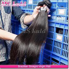 Silky & Soft Virgin Brazilian Straight Hair, Cheap Hair Extensions, Free Weave Hair Packs