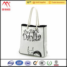 high quality fashion nylon foldable shopping bag , shopping bag with logo