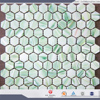 honeycomb mosaic tile honey onyx mosaic