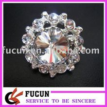 factory 2014 top sale crystal invitation brooches for wedding newest costume brooch fashion design crystal invitation brooches