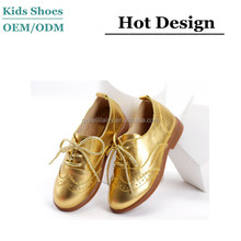 2015 newest design guangzhou kids shoes manufacturer leather casual kids shoes