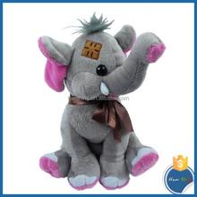 EN 71/SGS/ASTM/BV Standard Valentine's Day Customized soft baby plush toy stuffed elephant
