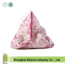 Floral Clothes Bra Underwear Washing Machine Foldable Nylon Mesh Bags