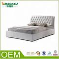 Alibaba estilo europeo moderno cama doble cama