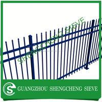 alibaba express Green coated welded metal fencing panels /Green powder garden fencing