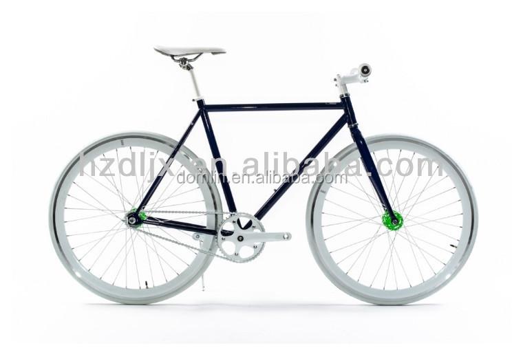 สีที่กำหนดเอง700cflip- flopศูนย์กลางความเร็วคงจักรยานเกียร์เดียว