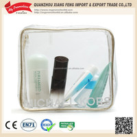 Quadrate Clear PVC Cosmetic Bag for Travel