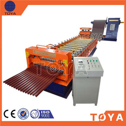 China Manufactured Four Crests 840 Type Steel Sheet Forming Machine Light Steel Sheet Roll Forming Equipment