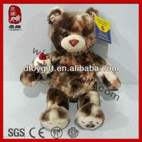 2014 birthday christmas gifts stuffed brown teddy bear soft toy ice cream bear plush toy teddy bear stuffed toy
