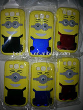 Little Yellow Men Mobile Cell Phone Case Cover in Hard PC Plastic Material